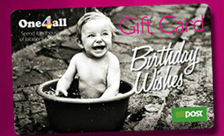 Birthday Giveaway: €50 One4All Card