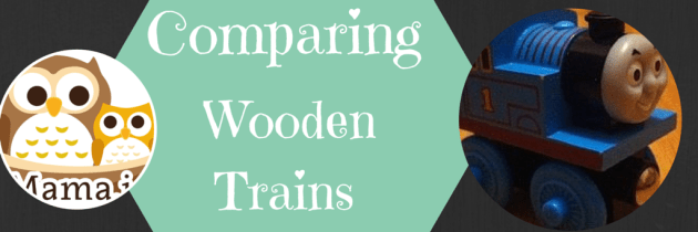 Comparing Wooden Toy Trains