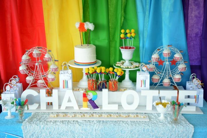 Vintage Rainbow party