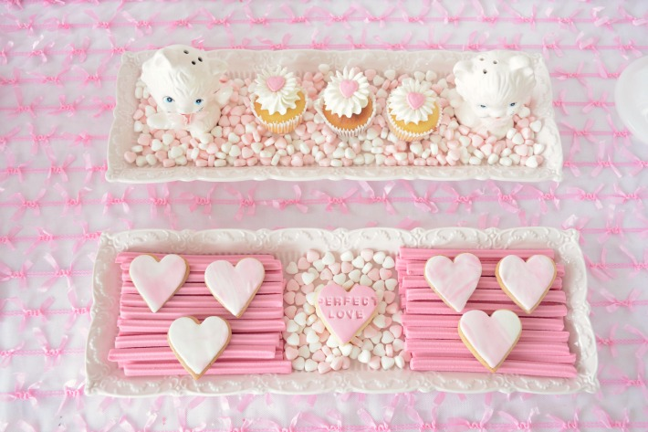 Valentine's Day high tea party