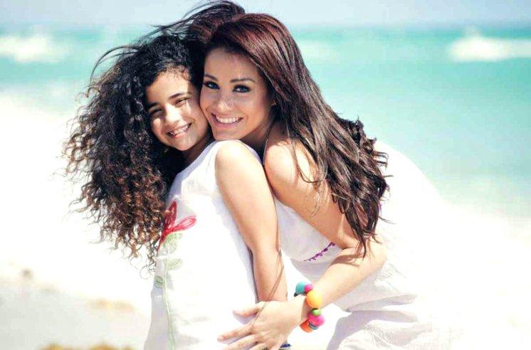 Carolina y su hija Bárbara