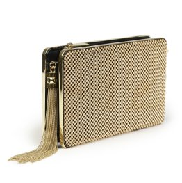 Express Metal Mesh Clutch