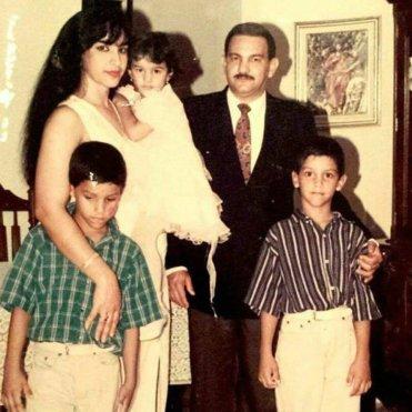 Clarissa y su familia