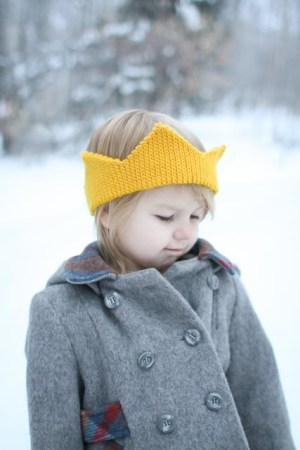 Free crochet crown pattern