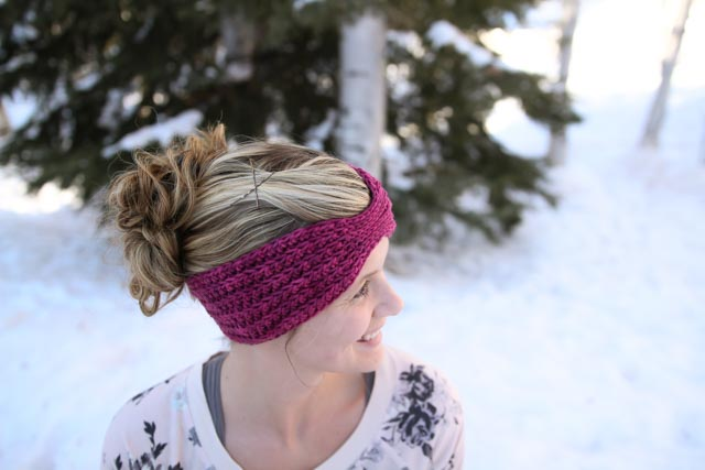 free crochet headwrap pattern