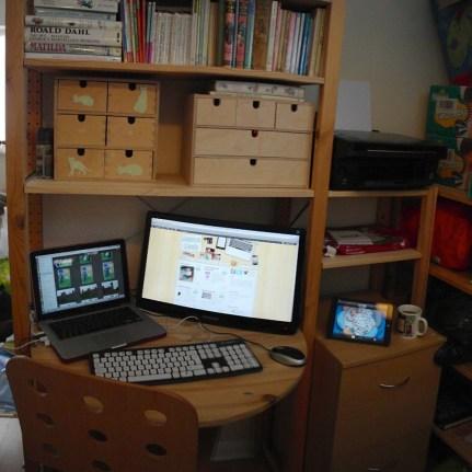 My little workstation