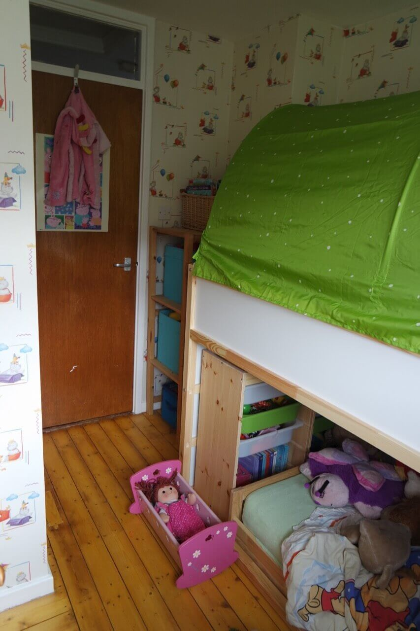Variera Estante Adicional Ikea ~ Our  Ikea Hack  toddler friendly bunkbed  Kura, Kritter & Trof
