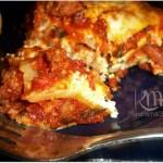 Homemade Traditional Lasagna