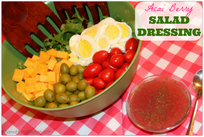 acai berry salad dressing with the best k cup flavors