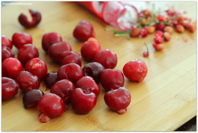 sweet and savory cherry bruschetta #puffpastry AD | Mama Harris ...