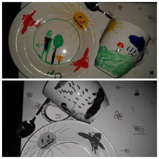 Porzellan Malerei