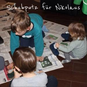 Nikolaus Schuhe putzen