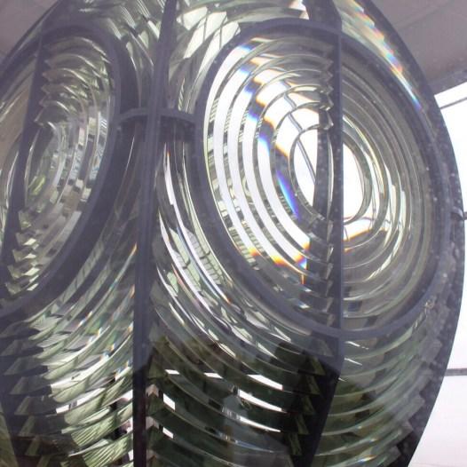Leuchtturm lampe Kristall