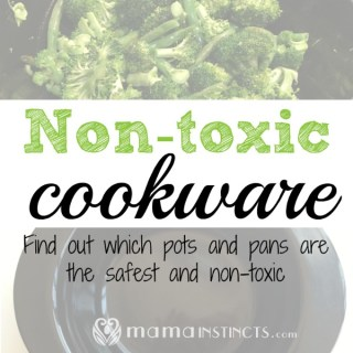 So many pots and pans leach harmful chemicals into your food. Avoid that unnecessary exposure by getting only safe and non-toxic cookware. #cookware #nontoxiccookware #safecookware #greencookware #greenliving #nontoxic #safeforthefamily #potsandpans