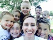 seven kid selfie