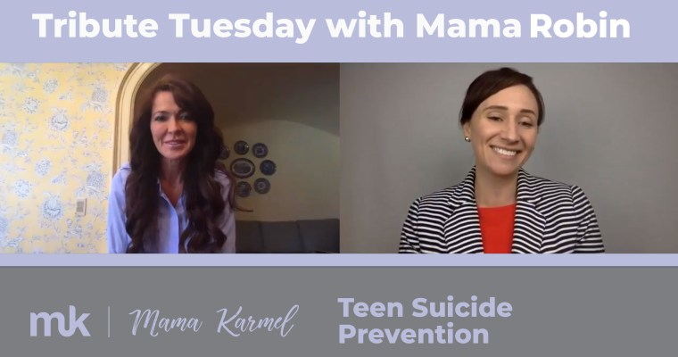 Tribute Interview with Robin Towle – Teen Suicide Prevention