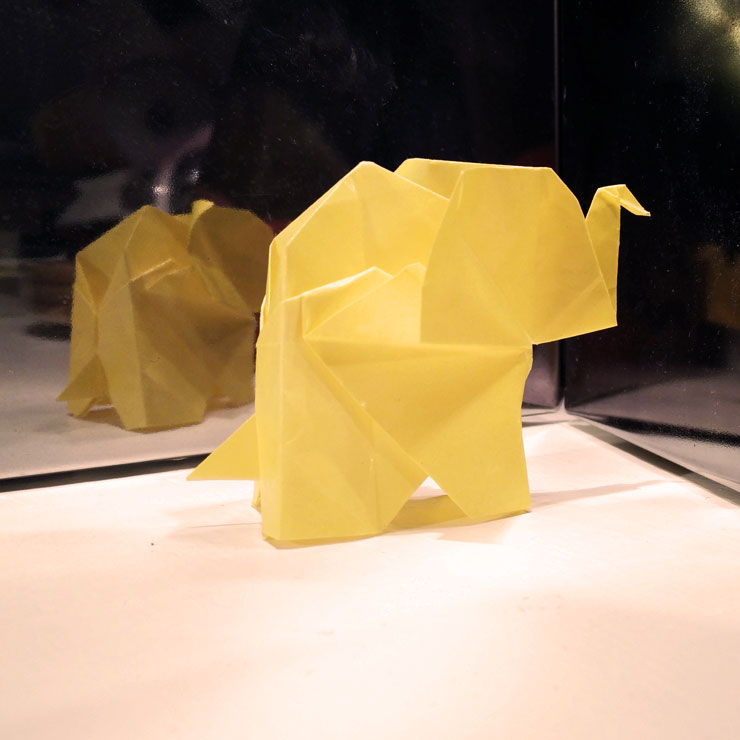 MAMANUSHKA.COM || Every Friday Is An Eid || Origami Elephant Gift