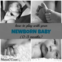How to Play with Your Newborn Baby (0-3 Months)