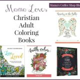 Less Stress with Christian Adult Coloring Books are Perfect for Gift Giving