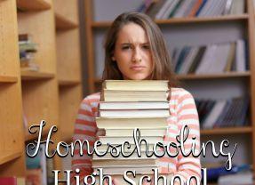 Don't Fret Over Homeschooling High School