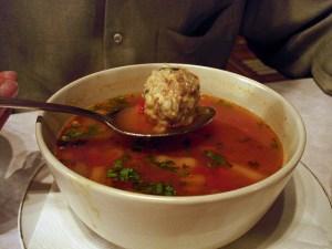 Albondigus Soup