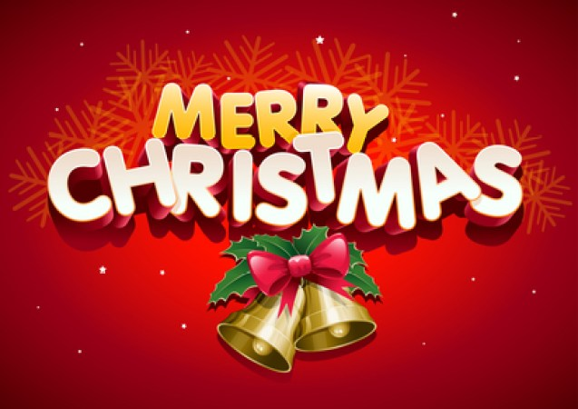 Merry Christmas. Elements are layered separately. Easy editable.