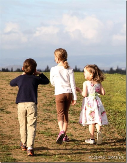 Evening walks help kids mellow out and process their day