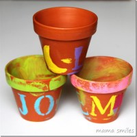 Spring Crafts for Kids: Decorate Terra Cotta Pots