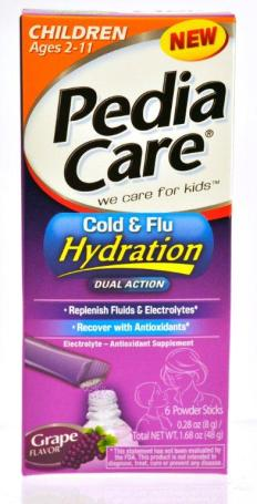 PediaCare Cold and Flu Hydration small PediaCare Giveaway!
