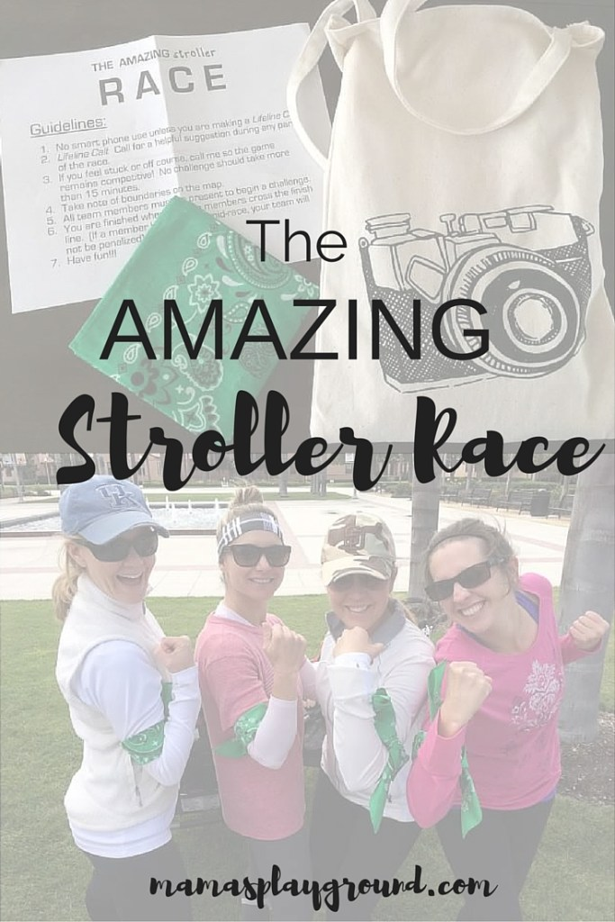 The Amazing Stroller Race