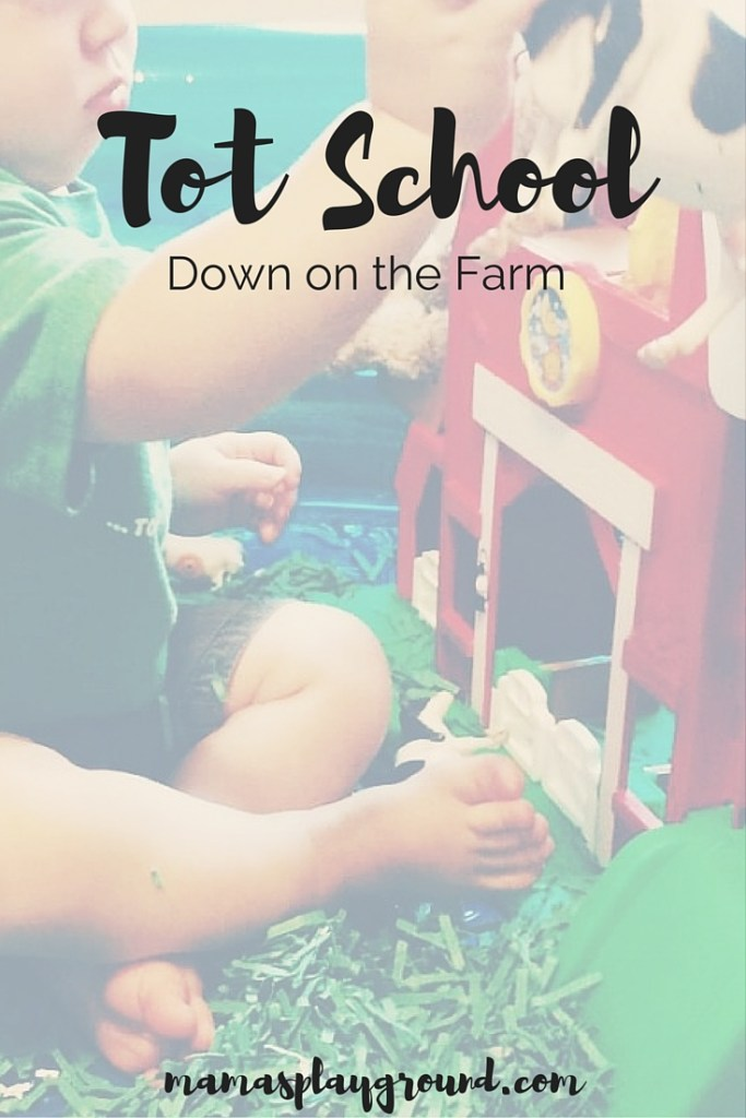 Tot School Down on the Farm
