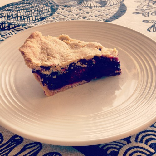 Berry Pie with Buckwheat Crust