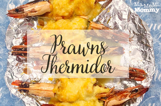 Prawns Thermidor Recipe