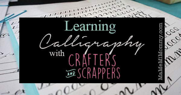 Learning Calligraphy with Crafters and Scrappers