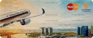 Fly now with these Amazing Deals from Singapore Airlines and MasterCard