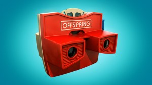 Offspring camera from it's opening credits