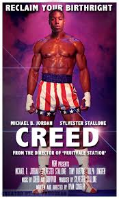 This may or may not be an official ad for Creed. I'm thinking not