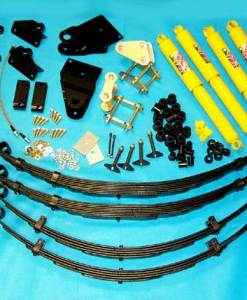 SAFARI SUSPENSION SYSTEMS FJ40 4-INCH ROCK CRAWLER KIT 1
