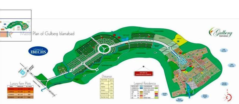 Gulberg Islamabad - Master Plan - 01