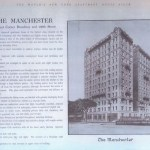 Original offering brochure for The Manchester 1910