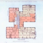 Original floor plan for The Manchester apartments