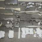 Drugs, weapons seized in Keene drug bust.