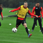 20131024Darren-Fletcher-Man-Utd-Training