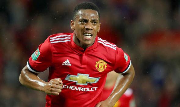 Anthony Martial Manchester United Jose Mourinho 857494