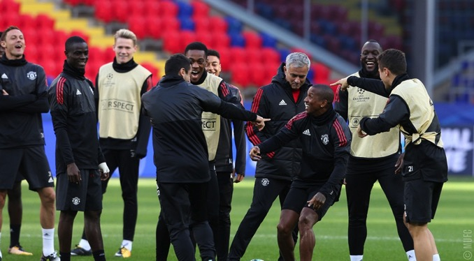 Gallery United train ahead of CSKA clash 05