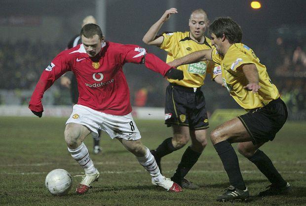 Burton Albion v Manchester United