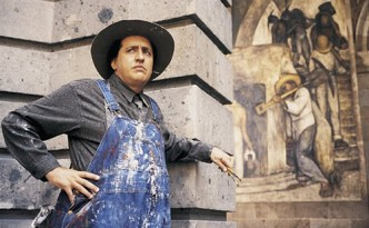 Alfred Molina as Diego Rivera in Miramax's Frida