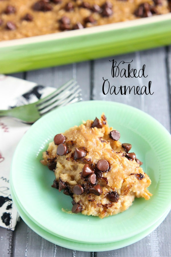 Baked Oatmeal #SplendaSweeties #SweetSwaps