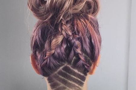 undercut hair tattoo