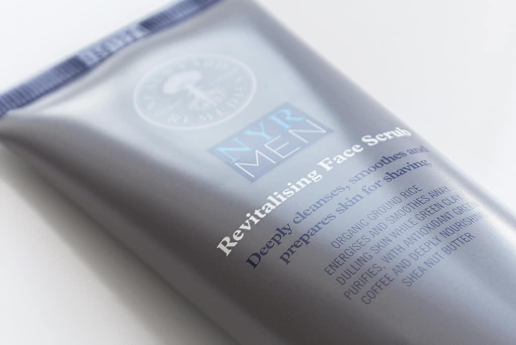 Neals Yard Remedies Men Revitalising Face Scrub